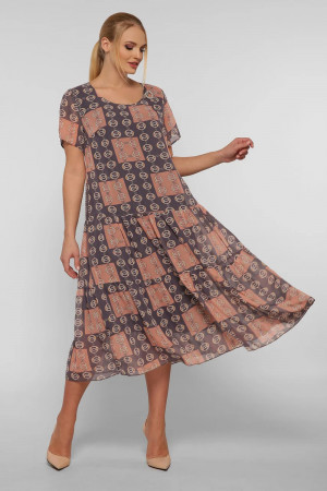 Платье «Катаисс» цвета пудры