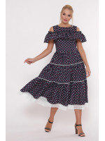 Платье «Таяна» принт-карты