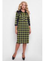Платье «Мадлен» зеленого цвета
