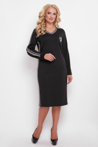 Платье «Виталина» черного цвета