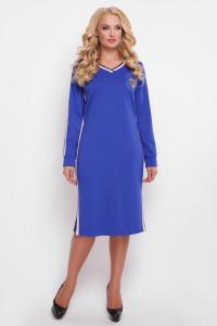 Платье «Виталина» синего цвета