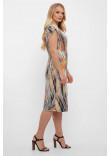 Сукня «Данія» з принтом-рептилія