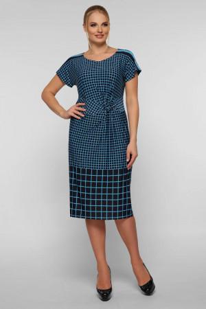 Платье «Белла» голубого цвета