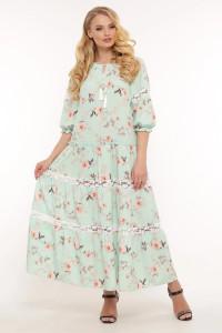 Сукня «Анна» кольору м'яти
