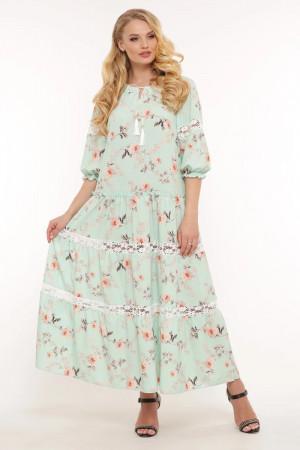 Платье «Анна» цвета мяты