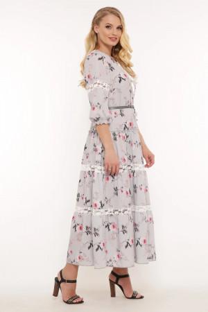 Сукня «Анна» сіро-небесного кольору