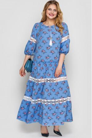 Сукня «Анна» волошкового кольору