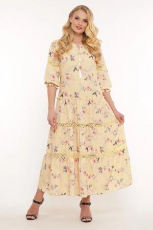 Сукня «Анна» жовтого кольору