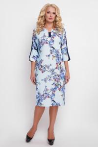 Сукня «Мілена» з квітковим принтом