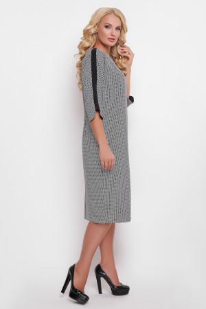 Платье «Милена» с пиксельным принтом