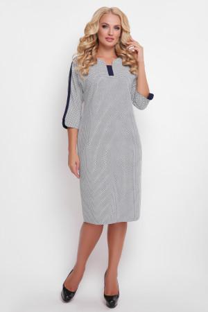 Сукня «Мілена» з синім принтом