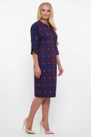 Платье «Милена» синего цвета