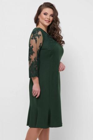 Сукня «Аннет» смарагдового кольору