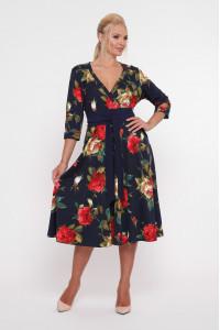Платье «Луиза» с крупными розами