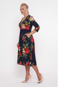 Сукня «Луїза» з великими трояндами