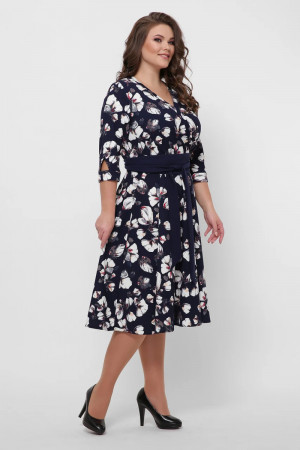 Платье «Луиза» с цветочным принтом