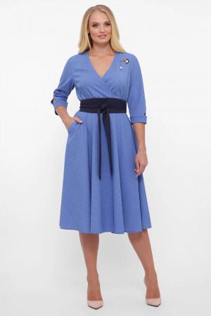 Сукня «Луїза» волошкового кольору