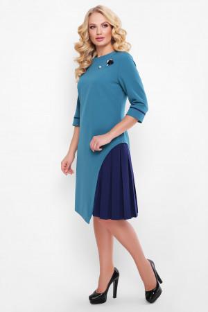 Сукня «Ванда» бірюзового кольору