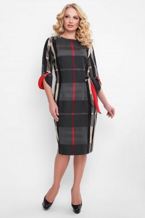 Платье «Джулия» в красную полоску
