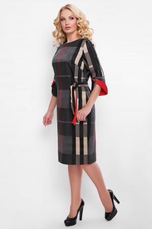 Сукня «Джулія» в червону смужку
