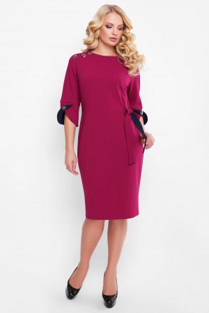 Платье «Джулия» цвета марсала