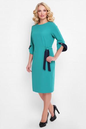 Платье «Джулия» бирюзового цвета