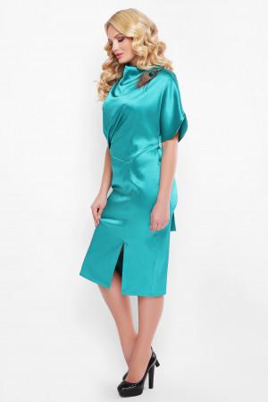 Платье «Элеонора» изумрудного цвета