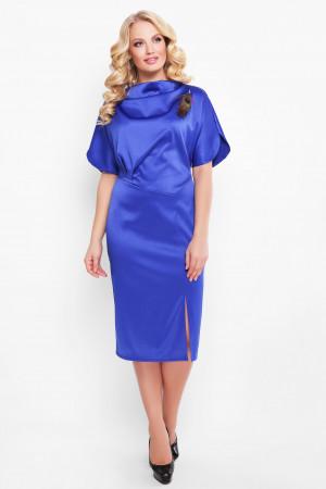 Платье «Элеонора» сапфирового цвета