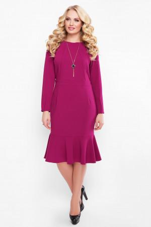 Платье «Роми» цвета марсала