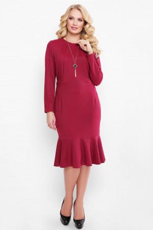 Платье «Роми» бордового цвета