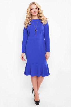 Платье «Роми» цвета электрик