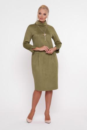 Сукня «Марша» оливкового кольору