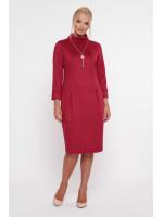 Сукня «Марша» бордового кольору