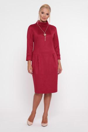 Платье «Марша» бордового цвета