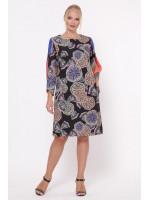 Сукня «Ненсі» з абстрактним принтом