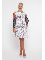 Сукня «Ненсі» чорно-білого кольору