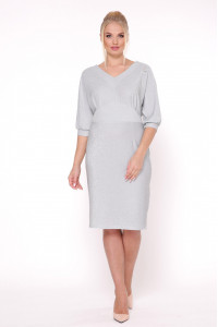 Сукня «Афіна» сріблястого кольору