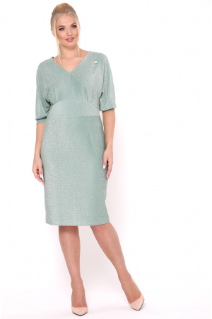 Платье «Афина» мятного цвета