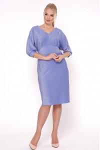 Платье «Афина» цвета голубой фиалки