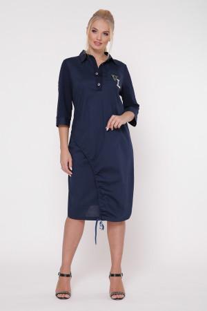 Сукня «Гайя» синього кольору