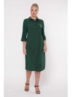 Сукня «Гайя» темно-зеленого кольору