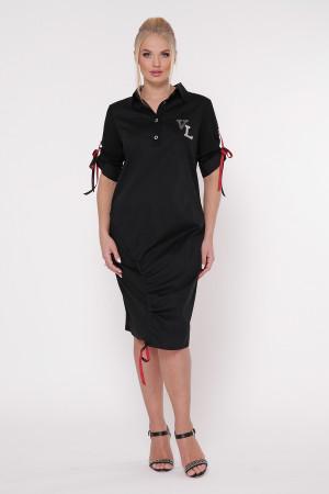 Сукня «Гайя» чорного кольору