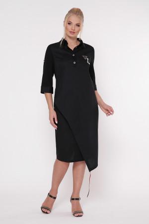 Платье «Гайя» черного цвета