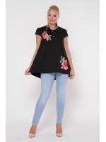 Блузка «Розмарі» чорного кольору