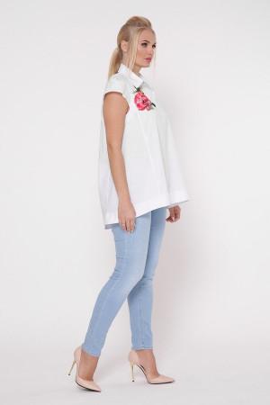 Блузка «Розмарі» білого кольору