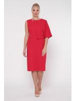 Платье «Надин» красного цвета