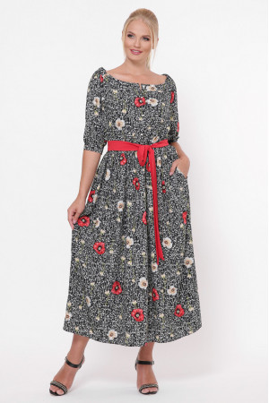 Сукня «Сніжана» з маками