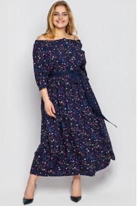 Сукня «Сніжана» синього кольору