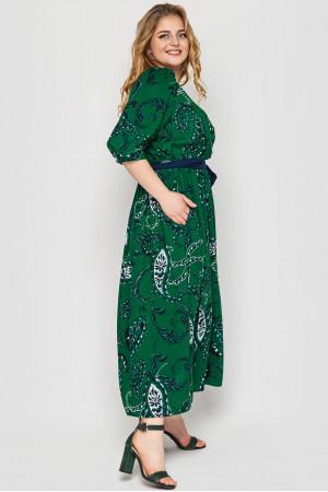 Платье «Снежанна» зеленого цвета