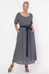 Сукня «Сніжанна» з горошинками